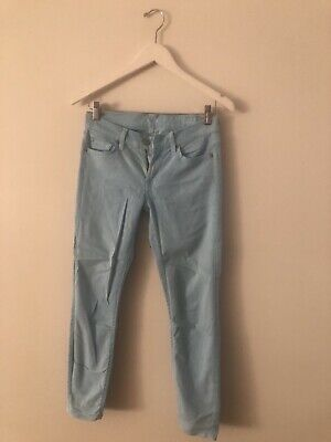 AU5 • Buy 7 For All Mankind Ladies Jeans (Tag Sz 27)