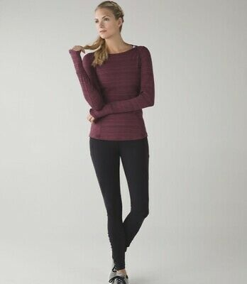 $ CDN25.61 • Buy Lululemon Kanto Catch Me Long Sleeve.  Size 8