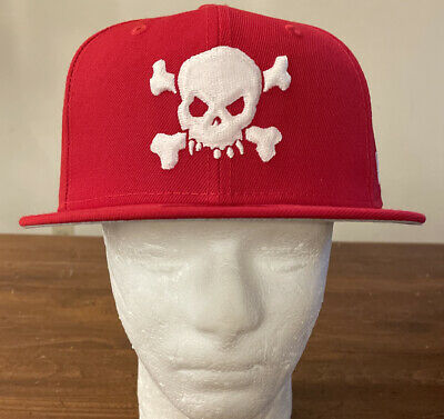 $ CDN124.97 • Buy Supreme/ New Era Skull Hat Red Size 7 1/4 Ss21 Week 8 (in Hand) Authentic