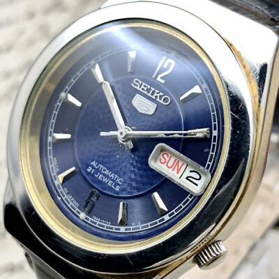 $ CDN296.02 • Buy Seiko 5 Watch Men's Automatic Day-Date Vintage MariN