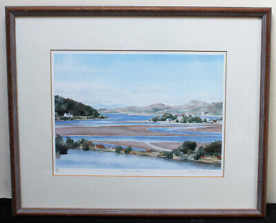 Susan A Berry : Mounted Framed Limited Edition Print : Crinan Ferry Scotland • 15£