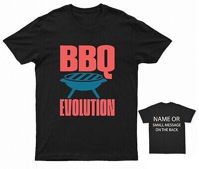 £11.95 • Buy Bbq Evolution Bbq T-shirt Funny Quote Holiday Gift