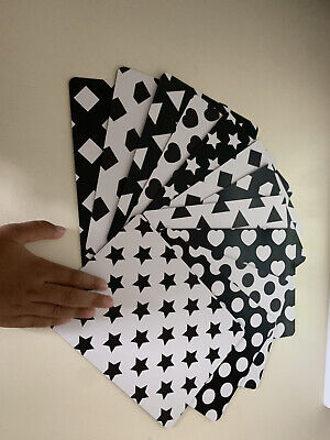 £2.50 • Buy  Faulty /Printing Issue  Black & White Baby Sensory Cards / Animal Prints