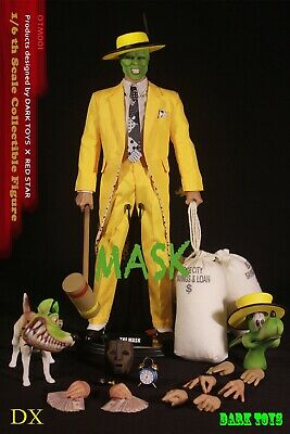 $239.99 • Buy DARK TOYS 1/6 Scale THE MASK Figure DTM001 Rainman Cultking In Stock Hot