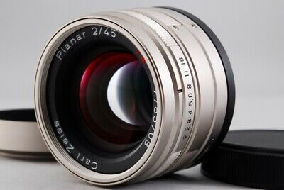 $ CDN526.22 • Buy [NEAR MINT] Contax Carl Zeiss Planar T* 45mm F/2 For G1 G2 Lens From Japan #486