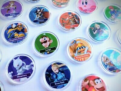 AU5.95 • Buy Super Smash Bros. Ultimate Amiibo PICK ANY Coin Card NFC Switch