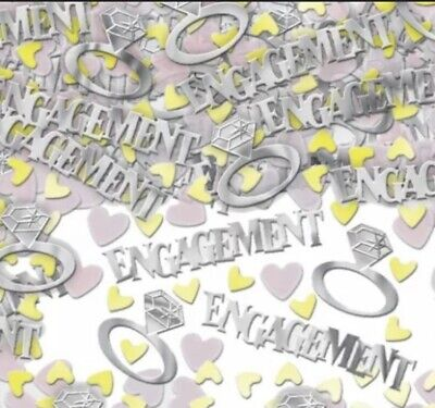£1.99 • Buy Engagement Party Confetti / Sprinkles Table Decoration