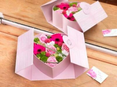 £8.99 • Buy Oxford Lined Heart Shape Hat Box Oasis® Flower Various Colour Floristry Gift