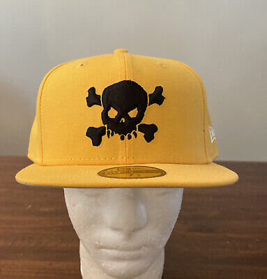 $ CDN113.28 • Buy Supreme/ New Era Skull Hat Yellow/ Size 7 3/4, Ss21 Week 8 (in Hand) Authentic