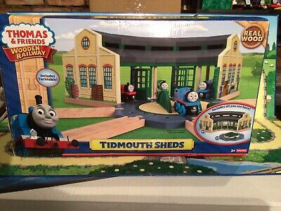 £135 • Buy Thomas And Friends Wooden Railway BNIB Tidmouth Sheds. Wow, One Off Item.