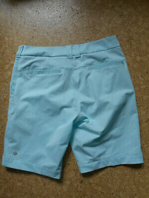 $ CDN44.99 • Buy Lululemon Light Aqua Blue Shorts, Deep Pockets, Business Casual,size 6