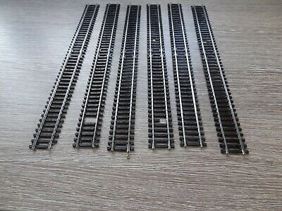 £19.99 • Buy HORNBY 00 GAUGE R601 DOUBLE STRAIGHT MADE IN AUSTRIA X 6