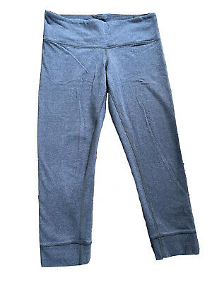 $ CDN6.01 • Buy Lululemon Womens Rouched Crop MSRP $88 Size 6 Grey