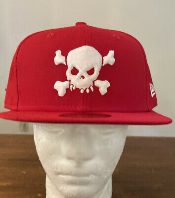 $ CDN124.97 • Buy Supreme/ New Era Skull Hat Red Size 7 3/4 Ss21 Week 8 (in Hand) Authentic