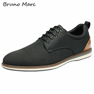$28.79 • Buy Bruno Marc Mens Casual Shoes Lace Up Formal Dress Shoes Oxford Shoes Size 6.5-13