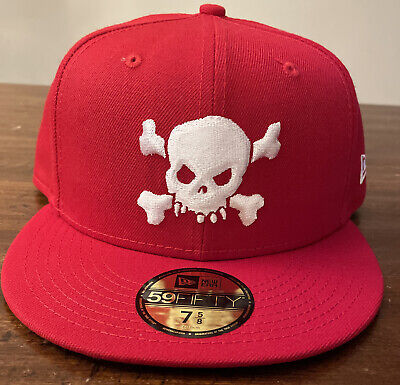 $ CDN124.97 • Buy Supreme/ New Era Skull Hat Red Size 7 5/8, Ss21 Week 8 (in Hand) Authentic
