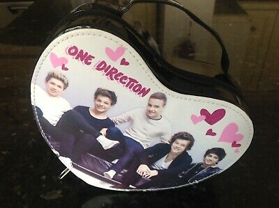 £2.45 • Buy One Direction Make Up Bag Hard Case Carry Handle Zipped School Mint Condition