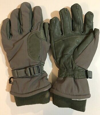 $9.99 • Buy Military Intermediate Cold/Wet Weather Unisex Gloves Ansell Hawkeye Green Med