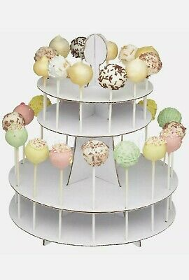 £4.59 • Buy  2 In 1 Cake Pop & Cupcake Muffin Display Stand Universal Party Decor New