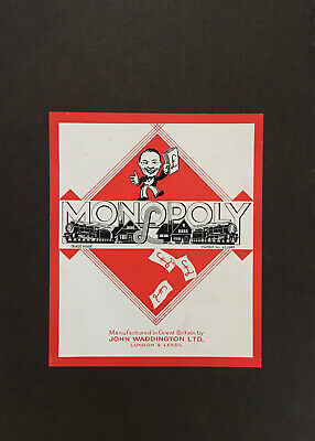 £75 • Buy Rare Monopoly Vintage Very Old Waddington Game Board Game 1940's Complete Rare