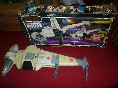 $ CDN217.73 • Buy Vintage Star Wars ROTJ B-Wing Fighter In The Original Box!
