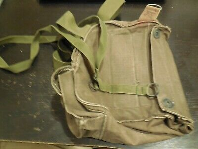 $28.99 • Buy M17A2 Chemical Biological Gas Mask Canvas Bag 1973?  Free USA Shipping!