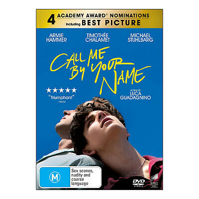 AU12.95 • Buy Call Me By Your Name DVD Brand New Region 4 Aust. Timothée Chalamet - Free Post