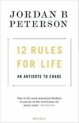 AU41.75 • Buy NEW 12 Rules For Life By Jordan B. Peterson Hardcover Free Shipping