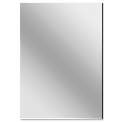 £59.99 • Buy Perspex Mirror Sheet 1200mm X 810mm X 4mm Excellent Reflection Ideal For Gym's