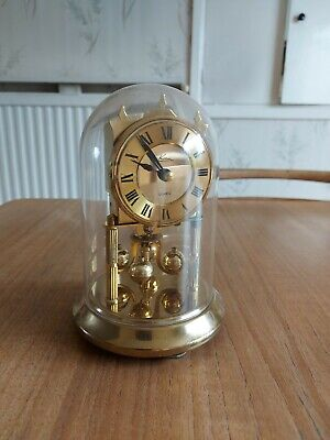 £50 • Buy Vintage Kein Anniversary Clock. Brass With Glass Dome.