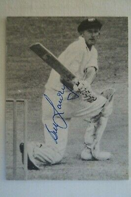 AU34.95 • Buy Cricket Collectable - Australian Test Captain Photo Card - Signed Bill Lawry