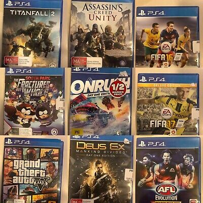 AU22.87 • Buy PS4 Sony PlayStation 4 Video Games Good Condition Free Postage