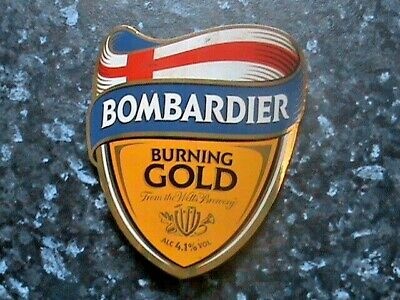 £2.49 • Buy Wells Bombardier Burning Gold Beer Pump Clip Sign