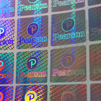 £4.99 • Buy 9x Certificate Security Hologram Stickers Square 20mm X 20mm Pearson