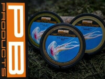 £13.99 • Buy PB Products Jelly Wire *ALL COLOURS & BREAKING STRAINS* Carp Fishing Rig Tackle