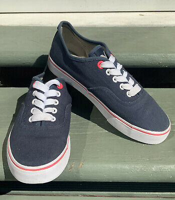 £8.99 • Buy BOYS VOI Lace Up Navy Trainers Size UK 5 Casual Pumps Sneakers Shoes EXCELLENT