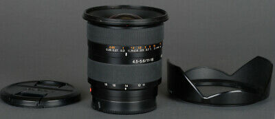 AU316.94 • Buy Sony A Mount DT APS-C 11-18mm F4.5-5.6 Super  Wide Angle Zoom - EX + Warranty!