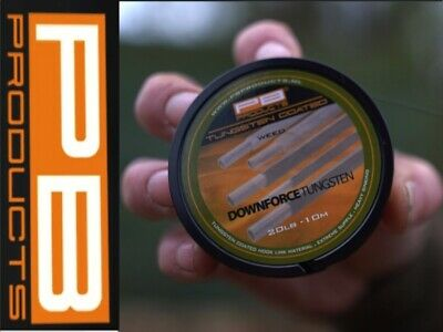 £15.99 • Buy PB Products Downforce Tungsten Hook Link Braid 20lbs *ALL TYPES* Carp Rig Tackle