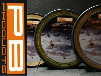 £14.95 • Buy PB Products Silk Ray Lead Free Leader Braid *ALL COLOURS & BREAKING STRAINS*