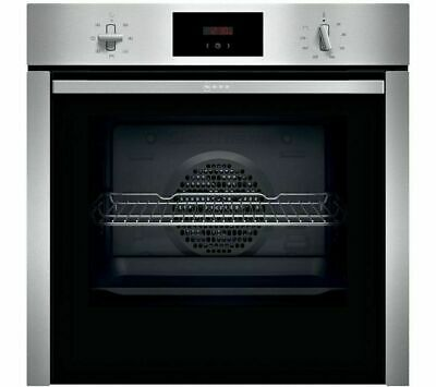 £427.87 • Buy NEFF N30 B3CCC0AN0B Slide & Hide Electric Oven Stainless Steel 71L A Rate 13 Amp
