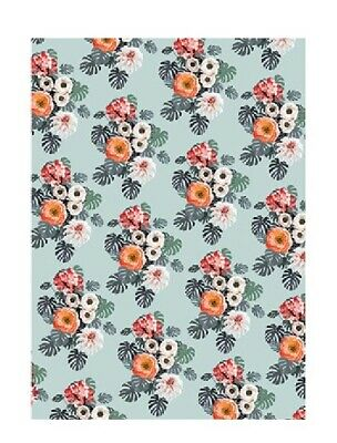 £2.99 • Buy Sheet Of Flower Bouquet Wrapping Paper