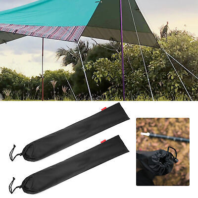 AU11.72 • Buy Tent Pole Storage Bag Camping Accessory Bag Strong And Durable For