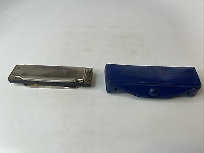 $19.99 • Buy M. Hohner Blues Harp Harmonica Made In Germany Bent Plays Well