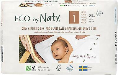 £20.98 • Buy Eco By Naty Nappies Plant Based Premium Diaper Napy Saving Pack Size 1 2 3 4 5