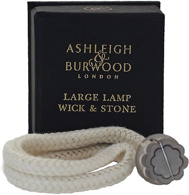 £9.14 • Buy ASHLEIGH & BURWOOD Large Replacement Wick Boxed For Use In Fragrance Lamp