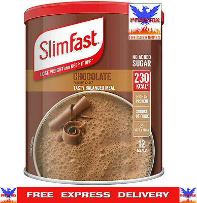 £9.50 • Buy SlimFast Meal Shake Powder 12 SERVINGS CHOCOLATE *VERY FAST DELIVERY*