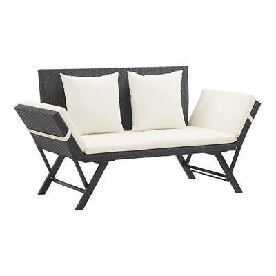 AU369.95 • Buy Garden Bench With Cushions 176 Cm