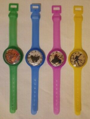 $28 • Buy 1980s Masters Of The Universe MOTU 4 Party Favor Watches He-Man Cringer Eternia