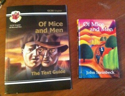 Of Mice And Men By John Steinbeck  CGP GCSE The Text Guide And Book • 5£