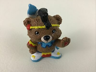 £12.74 • Buy Hanna Barbera Paw Paws Native Bear Figure Brave Paw Vintage 1985 Applause Toy